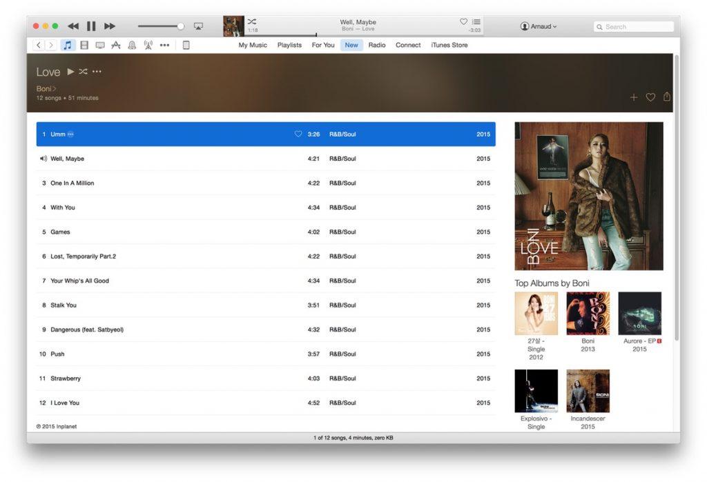 Boni - Apple Music